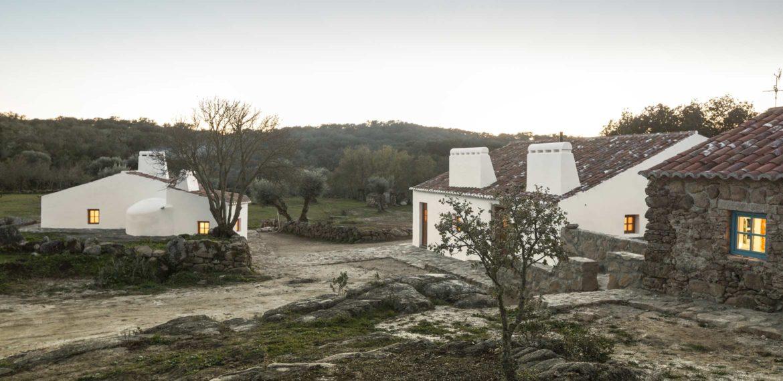 Casas Caiadas in Alentejo, Portugal