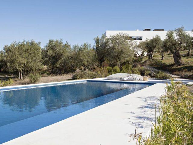 Villa Extramuros — Pool area