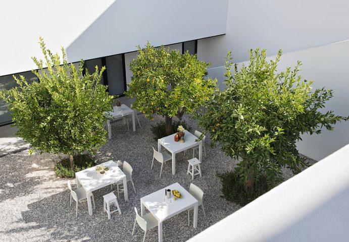 Villa Extramuros — Courtyard