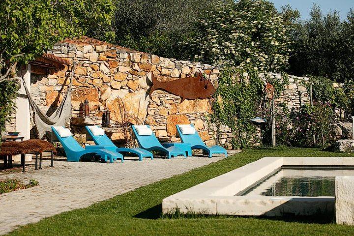 Villa Pedra — Villa Pedra pool area