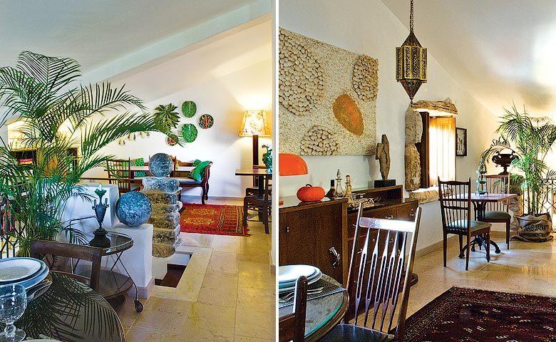 Villa Pedra — Breakfast area