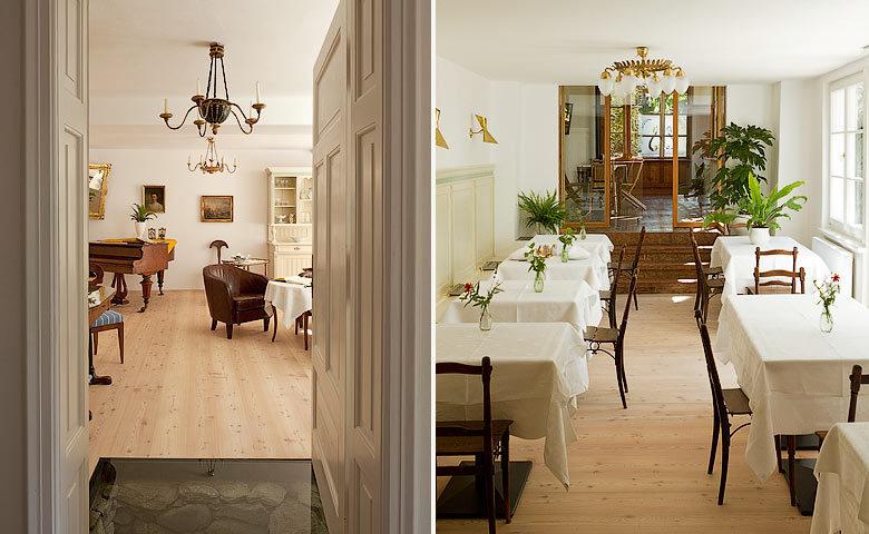 Ottmanngut — Hotel lounge and breakfast room