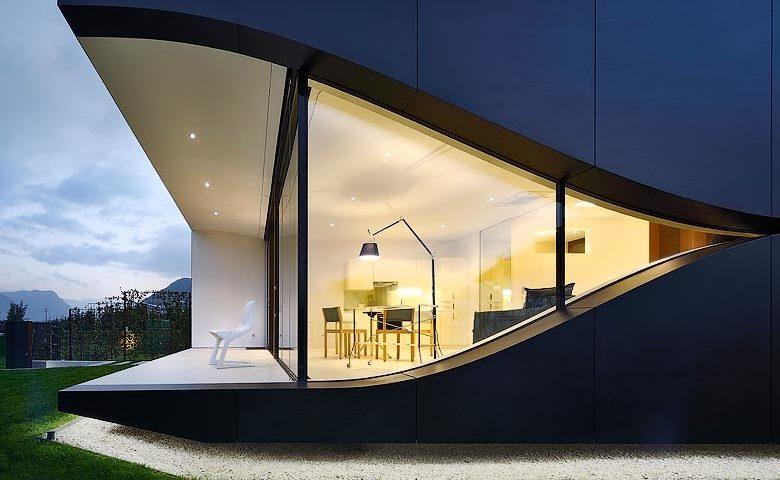 Mirror Houses — Terrace and garden