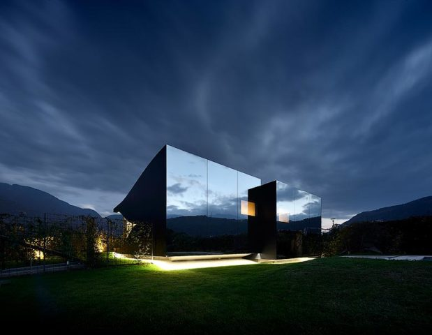 Mirror Houses — Mirror Houses at night