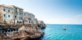 Cliff House, Polignano a Mare, Puglia, Italy