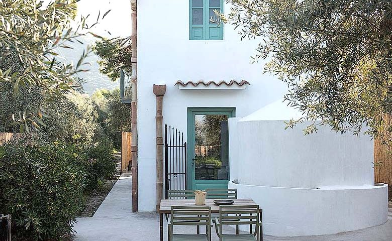 House under the Olive Tree — Garden and terrace