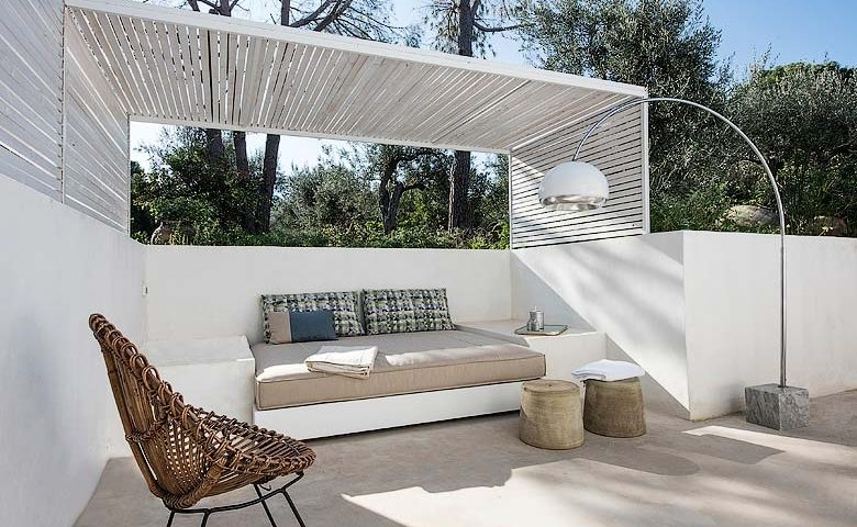 House under the Olive Tree — Olive tree patio