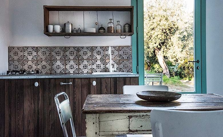 House under the Olive Tree — Kitchen area
