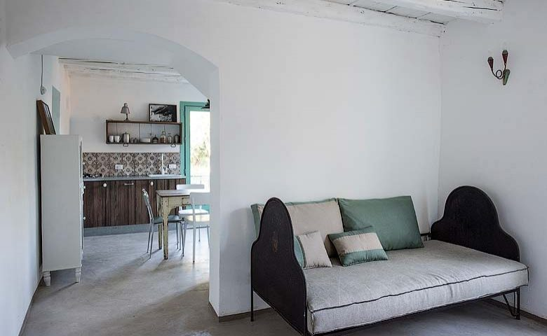 House under the Olive Tree — Living area