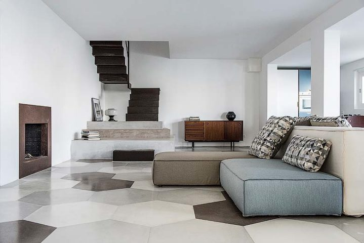 Villa on the Cliff — Living space