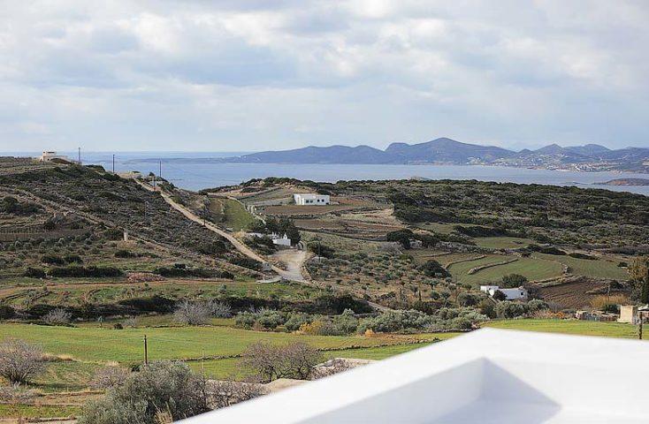 Paros Villa — Rooftop views