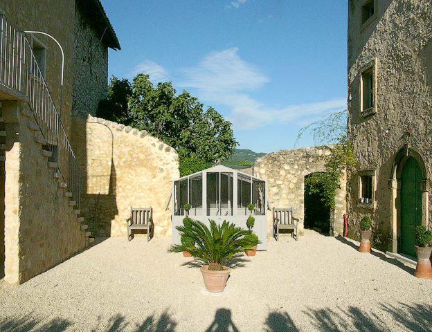 Pianaura Suites — Courtyard