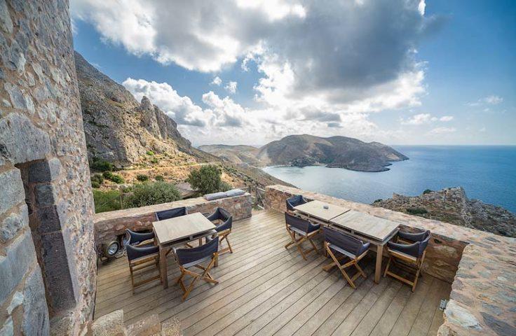 Tainaron Blue Retreat — Terrace
