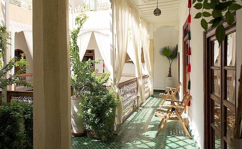 Chambres d'Amis — Chambres d'Amis courtyard