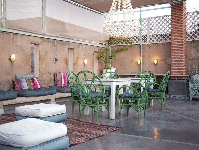 Chambres d'Amis — Chambres d'Amis roof terrace