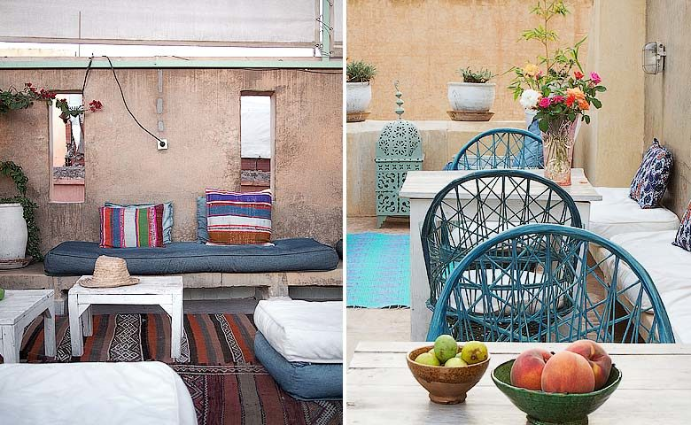 Chambres d'Amis — Roof terrace
