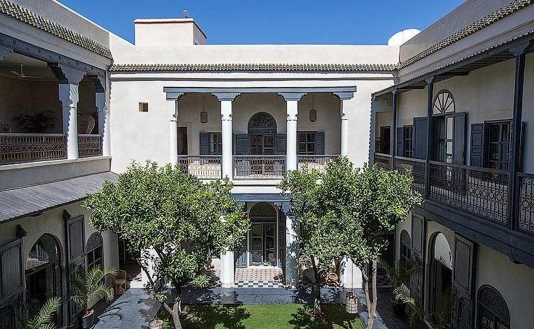 Riad de Tarabel — Riad de Tarabel courtyard