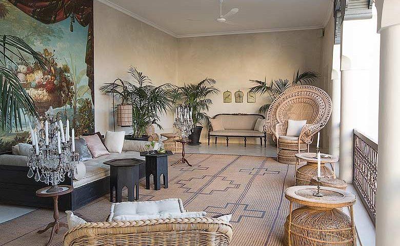 Riad de Tarabel — Sitting area