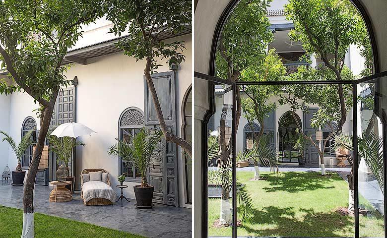 Riad de Tarabel — Courtyard