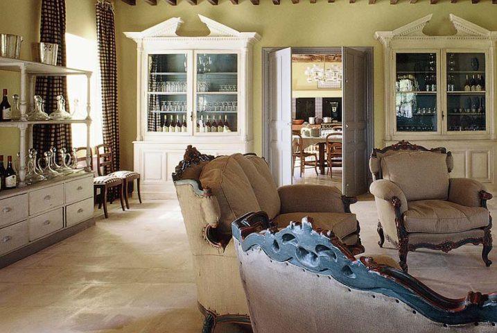 Le Mas de Peint — Living area