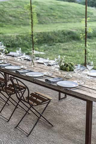 Malatesta Maison — Outside dining