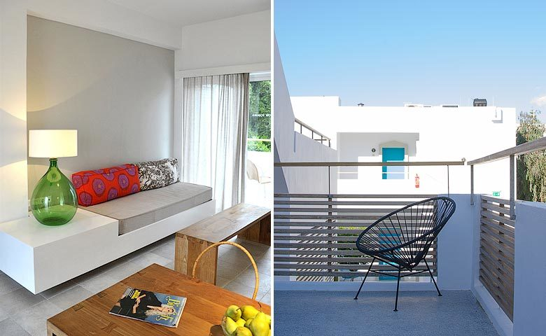 Ammos Hotel — Garden view suite and studio