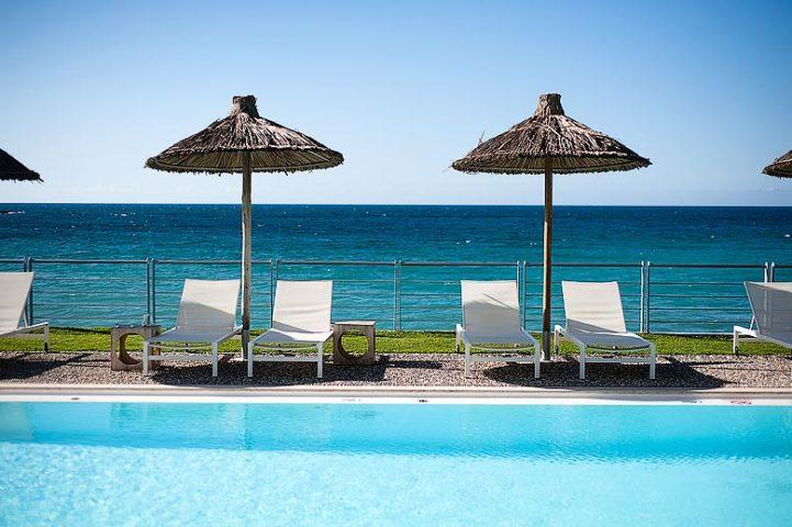Ammos Hotel — Pool area