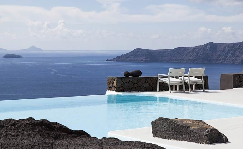 Aenaon Villas — Pool and views