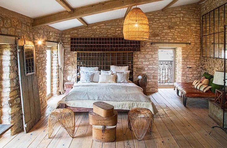 Ad Austrum — Ad Austrum main bedroom