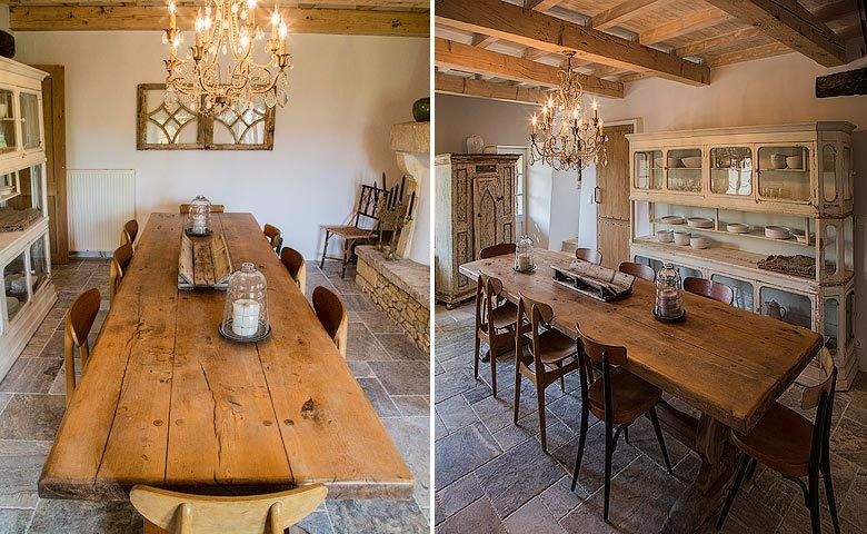 Ad Austrum — Dining area