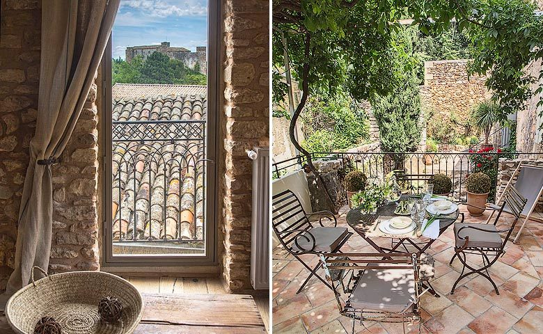 Ad Austrum — View and terrace