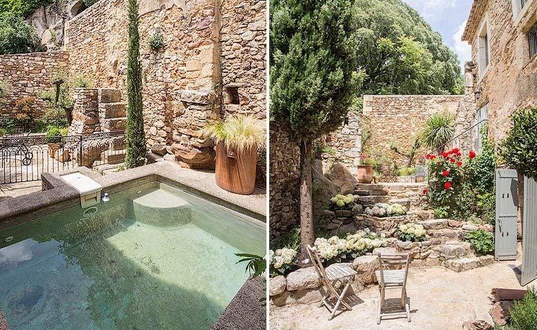 Ad Austrum — Pool and garden
