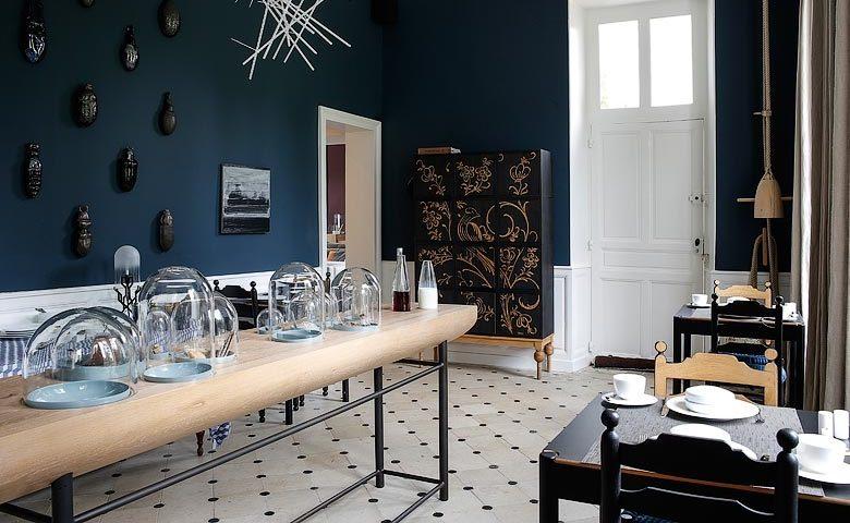 Château de la Resle — Breakfast room