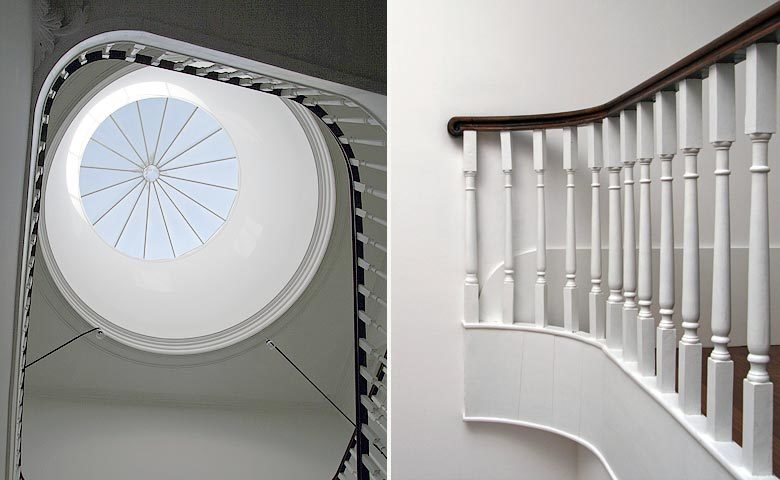 Porto Suites — Hotel staircase