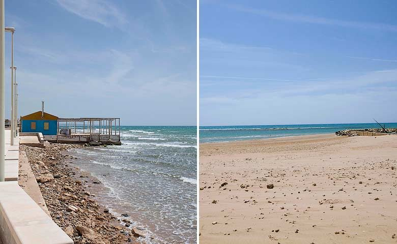 N'orma — Beach in the south of Sicily