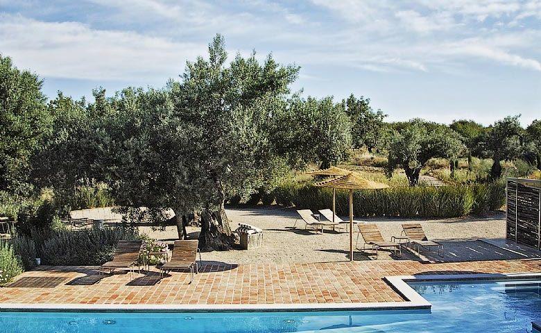 Fazenda Nova — Fazenda Nova pool and garden