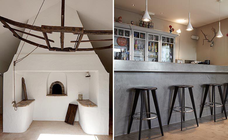 Fazenda Nova — Bread oven and bar