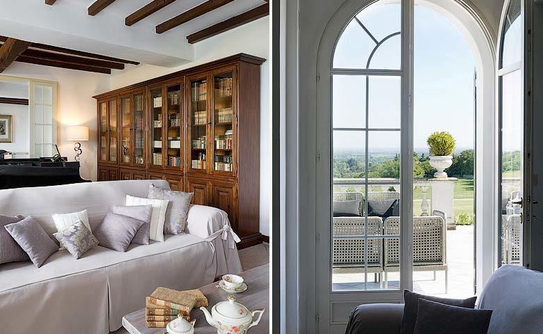 Villa di Parma — Lounge area