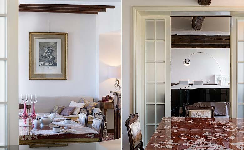 Villa di Parma — Dining area