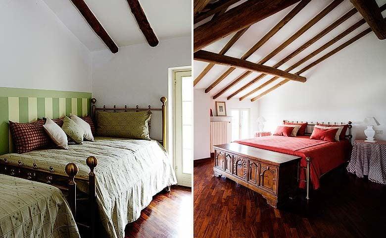 Villa di Parma — Bedrooms