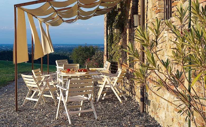 Villa di Parma — Terrace
