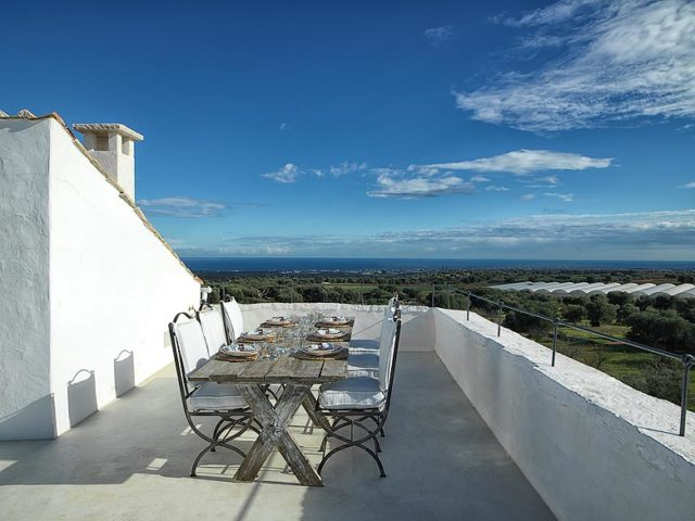 Masseria Petrarolo — Rooftop terrace