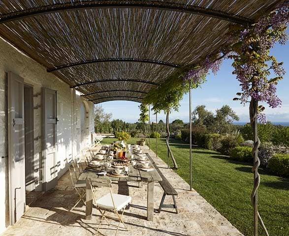 Masseria Petrarolo — Terrace