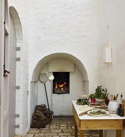 Masseria Petrarolo — Pizza oven