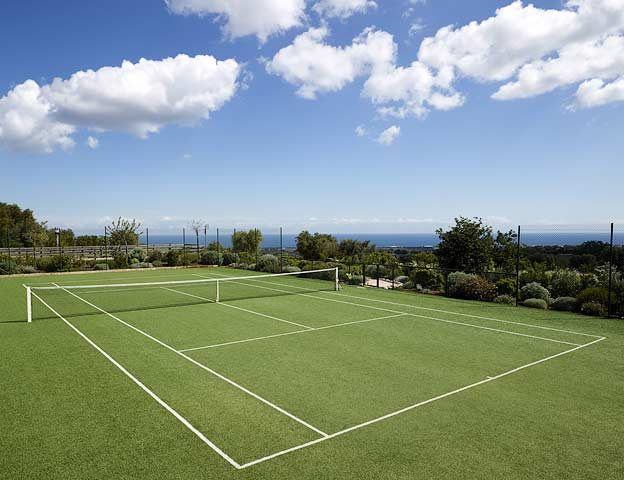 Masseria Petrarolo — Tennis court