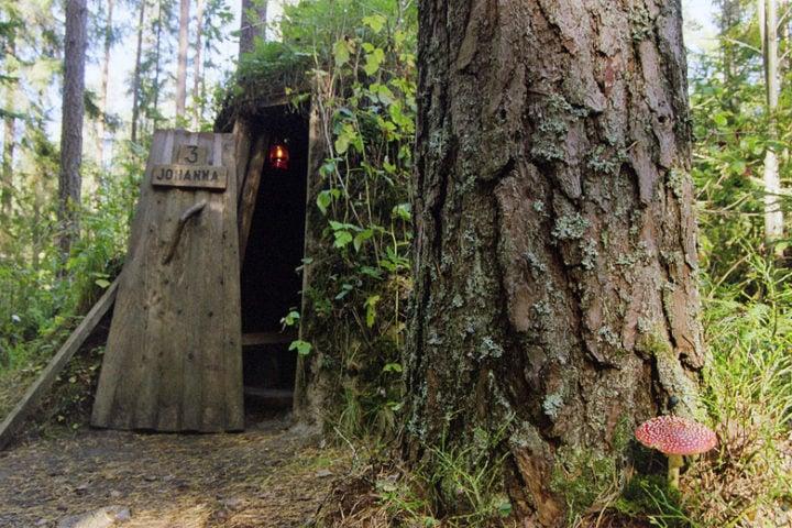 Kolarbyn — Kolarbyn forest hut Johanna