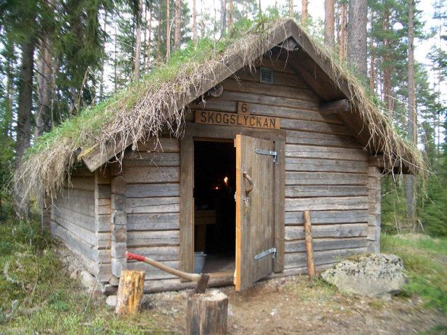 Kolarbyn — Kolarbyn log cabin
