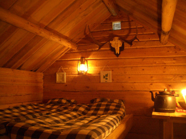 Kolarbyn — The romantic hut at Kolarbyn