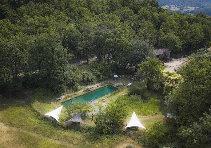 Le Camp — The pool