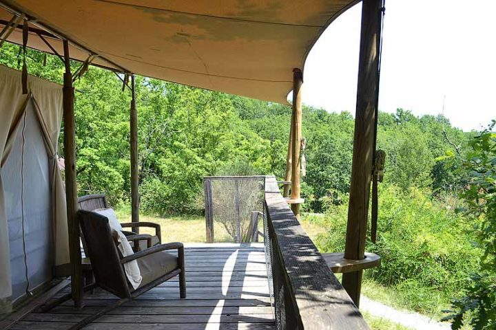 Le Camp — Samburu terrace